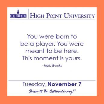[CALENDAR] November 7, 2017