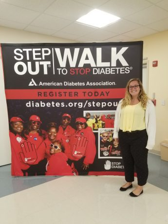 INTERNSHIP PROFILE: Hayley Houston Interns for the American Diabetes Association & The Leukemia and Lymphoma Society