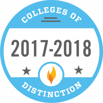 HPU Named 2017-2018 College of Distinction for Seventh Consecutive Year
