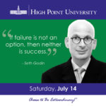 If failure is not an option, then neither is success. - Seth Godin