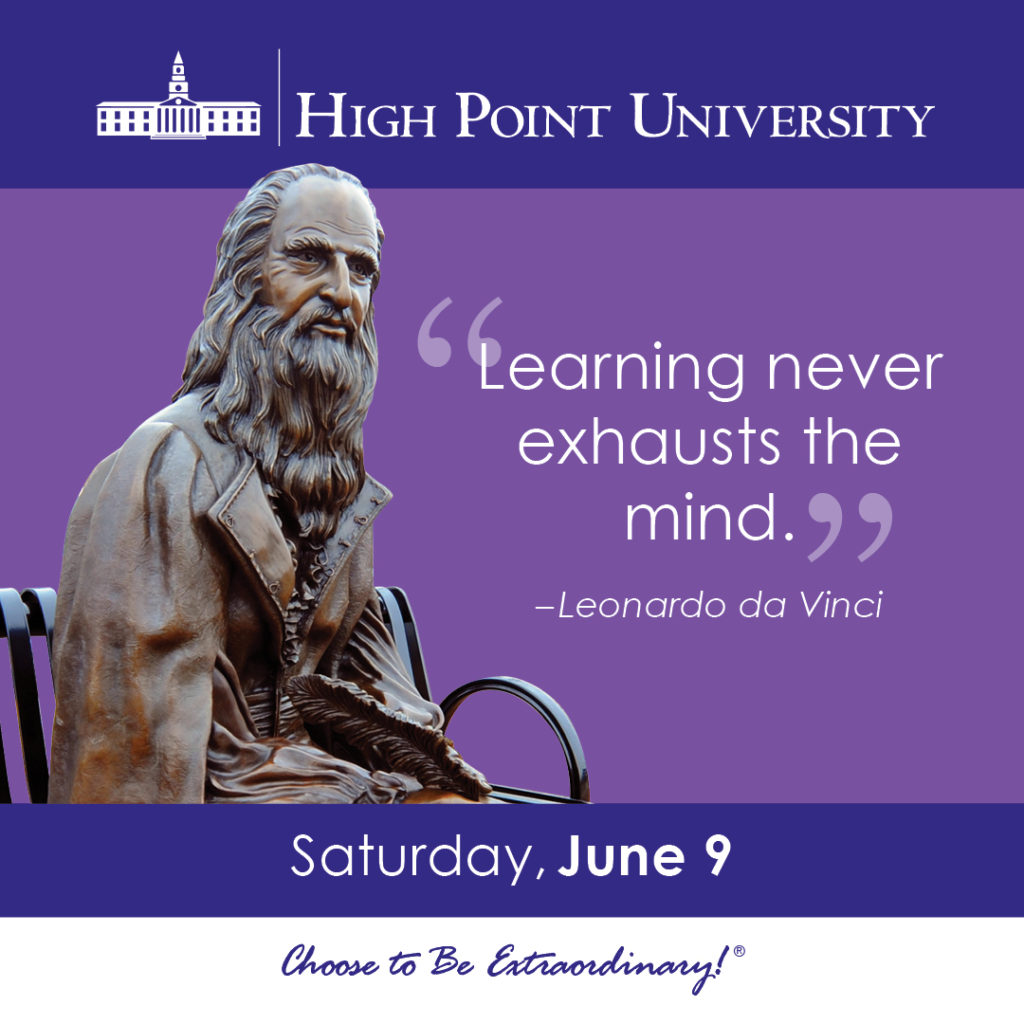 Learning never exhausts the mind. - Leonardo da Vinci