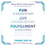 Fun is momentary. Joy is everlasting. Fulfillment is enduring. - Dr. Nido R. Qubein