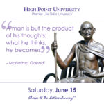 A man is but the product of his thoughts; what he thinks, he becomes. - Mahatma Gahndi
