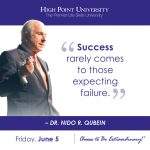 Success rarely comes to those expecting failure. - Dr. Nido R. Qubein