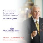 January 15 2021 daily motivation dr Nido Qubein quote