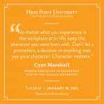 January 19 2021 daily motivation Cynt Marshall Quote