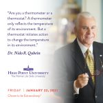 January 22 2021 daily motivation dr Nido Qubein quote