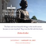 January 23 2021 daily motivation Hellen Keller quote