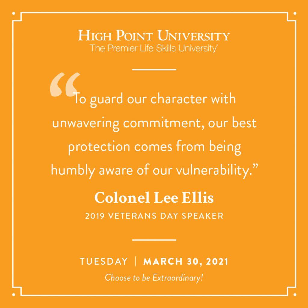 March 30 2021 Daily Motivation Colonel Lee Ellis Quote