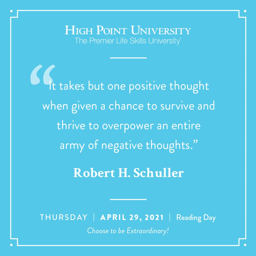 April 29 2021 Daily Motivation Robert H Schuller Quote