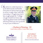 May 15 2021 Daily Motivation Zachary Fleming Alumni Quote
