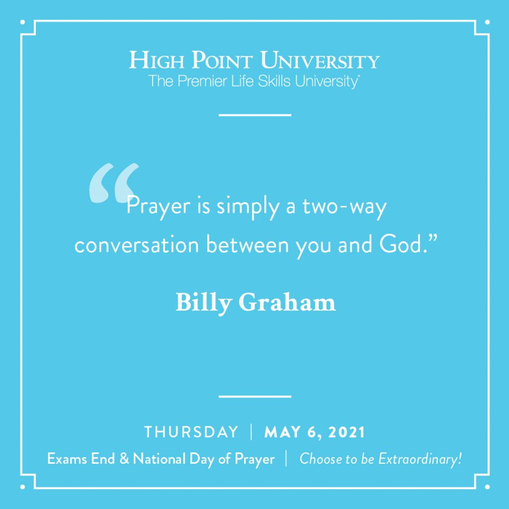 May 6 2021 Daily Motivation Billy Graham Quote