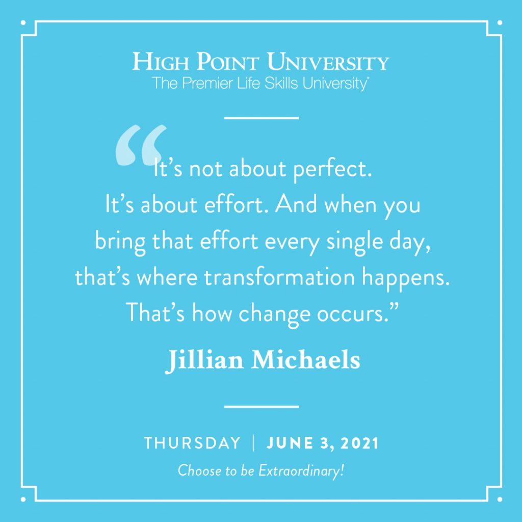 June 3 2021 Daily Motivation Jillian Michaels Quote
