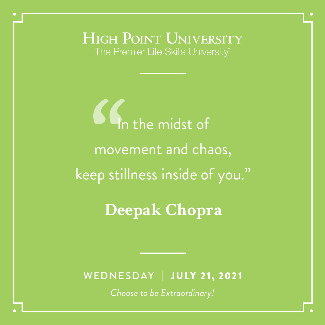 July 21 2021 Daily Motivation Deepak Chopra Quote
