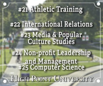 #MyMajorAtHPU: Top Majors at HPU (#21-25)