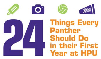 24 Things Every Panther Should Do in their First Year at HPU