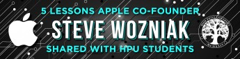 5 Lessons Apple Co-Founder Steve Wozniak Shared with HPU Students