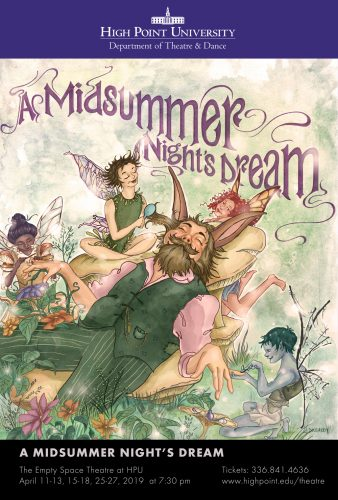 HPU Theatre to Perform Shakespeare's 'A Midsummer Night's Dream'