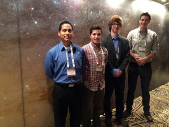 Students, Faculty Present Research at Major Astronomy Meeting