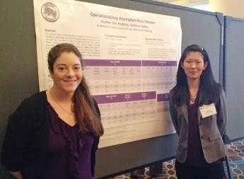 Professor and Student Present Research on Mass Murders at National Conference