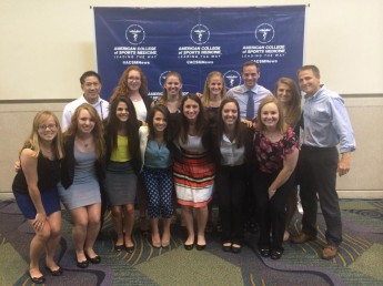 Students Present Research at Sports Medicine Conference