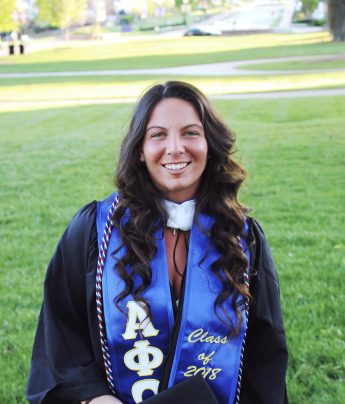 Class of 2018 Outcomes: Antonia Braccia Pursues Law Degree