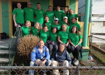 Students Spend Spring Break Giving Back to Hurricane-Ravaged News Orleans