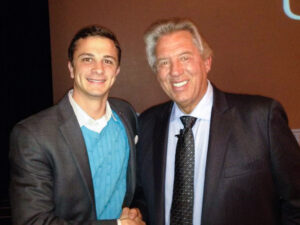 Nelson with best-selling author and leadership expert John Maxwell