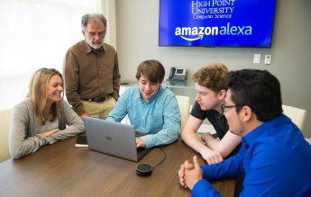 Senior Builds HPU's Amazon Alexa 'Skill'