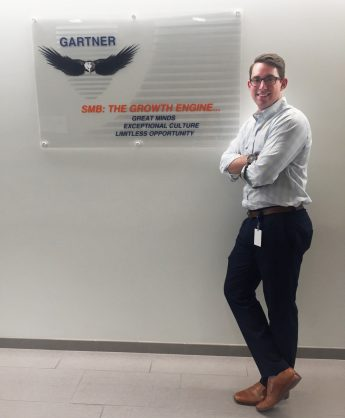 Senior Lands Dream Job in Sales Following Internship at Gartner