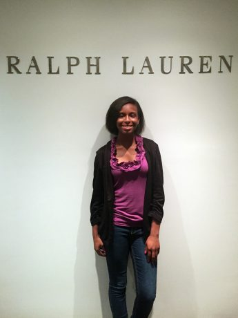 Senior Explores Fashion Industry with Ralph Lauren