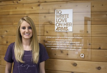 Class of 2014 Outcomes: Allie Dearie Spreads Hope and Help With TWLOHA