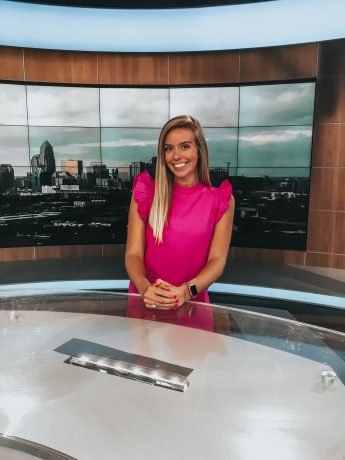 Internship Profile: Ally Patterson Practices News Presentation