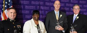 Alumni Banquet Honors Four Outstanding Graduates