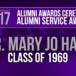 Alumni Service Award Mary Jo Hall