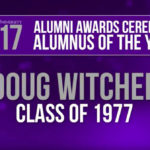 Alumnus of the year Doug Witcher