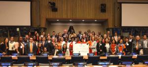 Non-Violence International group photo