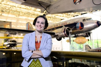 Class of 2014 Outcomes: Amy Stamm's Career Blasts Off at Air and Space Museum