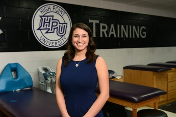 Class of 2015 Outcomes: Andrea Baellow Confirms Her Future in Athletic Training