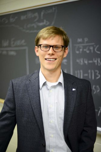 HPU Professor Receives Two Chemistry Grants from the National Science Foundation