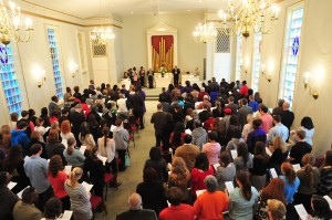 Annual MLK Service 2012