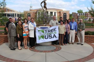 HPU High Point University Arbor Day