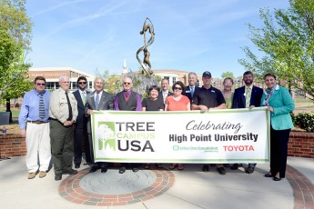 HPU Celebrates Arbor Day with Community