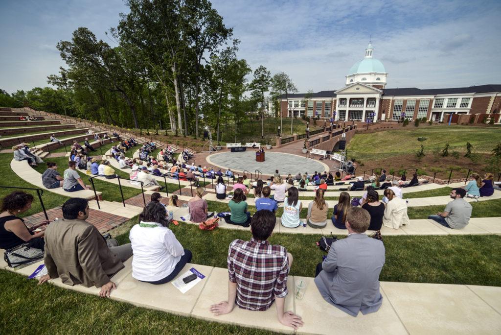 Arbor Day Alumni Ave Amphitheatre