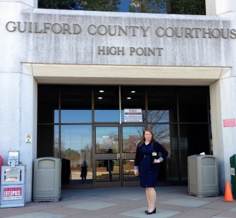 Senior Leans on the Law for Career Experience through Internship with Public Defender