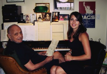 Rising Junior Selected to Intern with Renowned Songwriter Charles Strouse