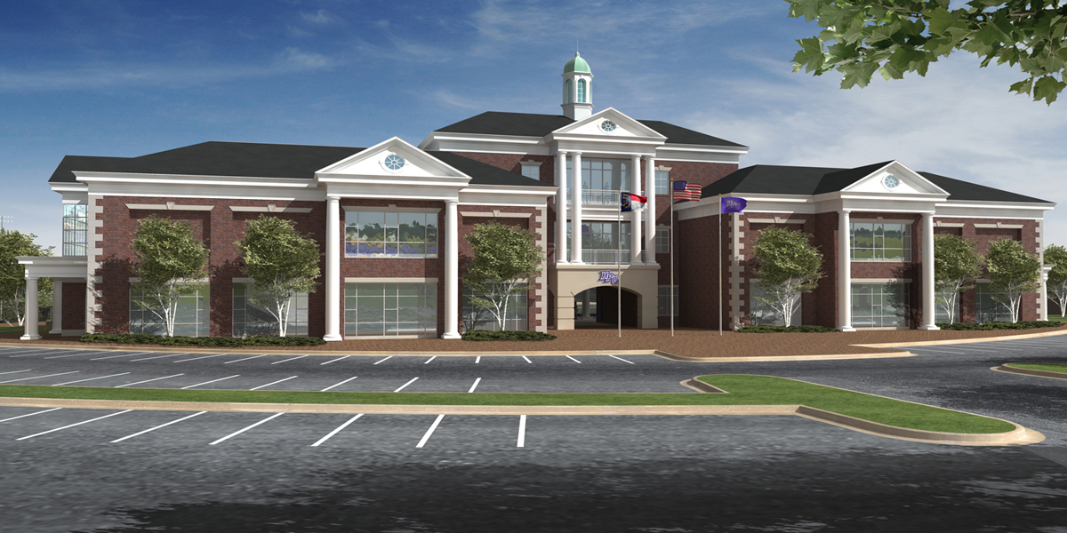 Hpu to build athletic performance center for ncaa div i for Performance house