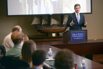 Attorney General Roy Cooper Visits HPU