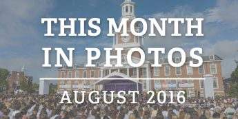 This Month in Photos: August 2016