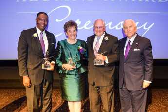 HPU Recognizes Outstanding Alumni, Welcomes Graduates Back to Campus